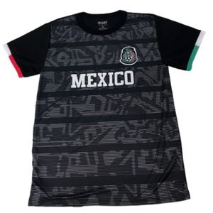 Other - Men's Mexico Home Black Soccer Jersey Tee Medium